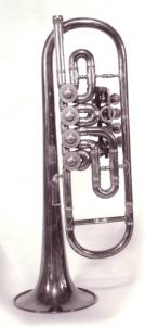 Alois Hába rotary valve quarter-tone trumpet