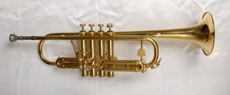 Holton quarter-tone trumpet